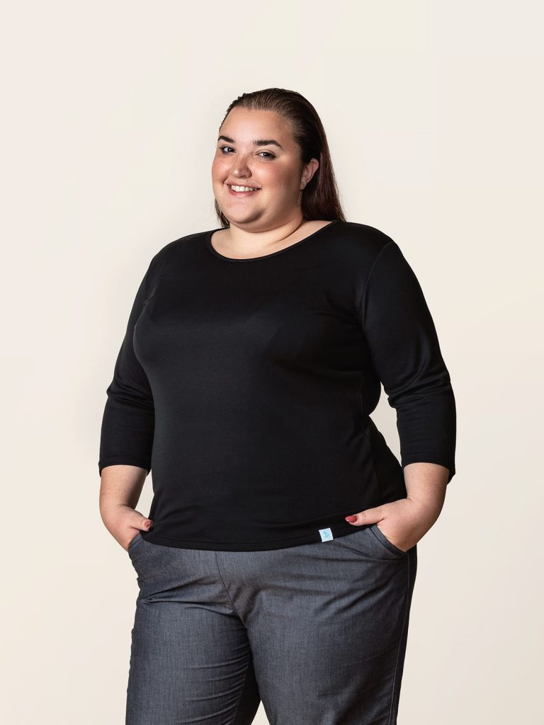 Meriam wearing Puronen brand. The is from a campaign lookbook I shot for Weecos.com Curves campaign for plus sizes. Sustainable fashion should be available for all bodies, and that's what we were saying with the campaign.